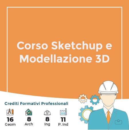 Corso Sketchup e Modellazione 3D