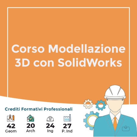 corso 3d solid works