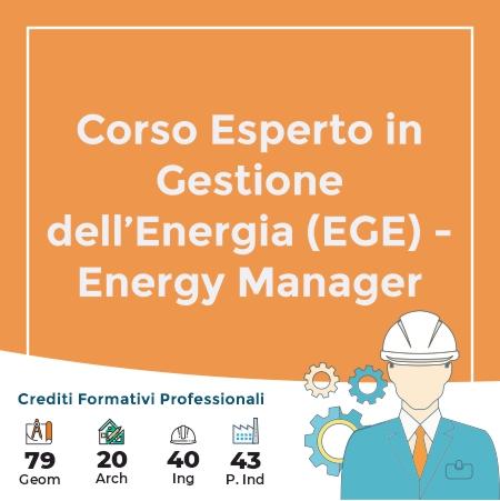 corso energy manager ege