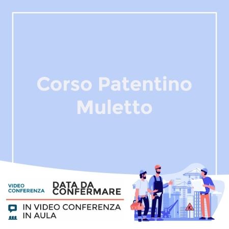 Corso Patentino Muletto