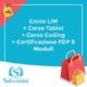 corso lim corso tablet corso coding certificazione fdp 8 moduli